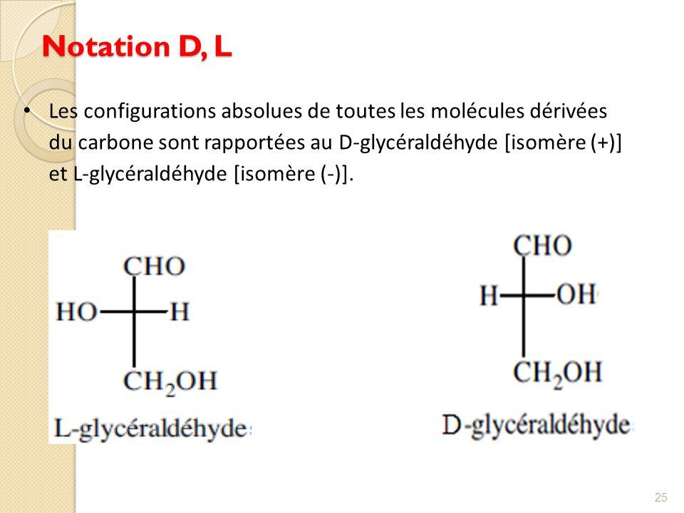 Notation D, L
