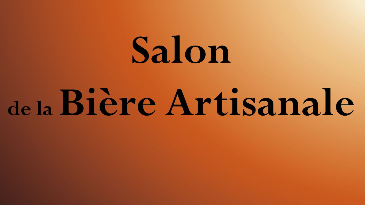salon de la bi re artisanale ppt video online t l charger