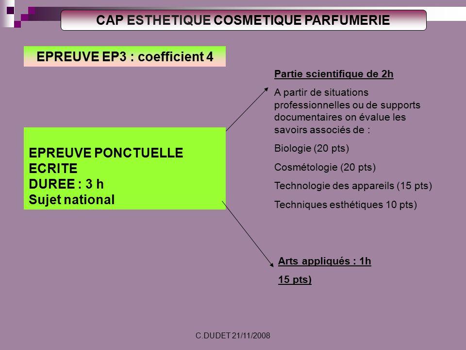 Cap esthetique cosmetique parfumerie arr t du 22 avril ppt video online t l charger - Coefficient bac pro cuisine ...