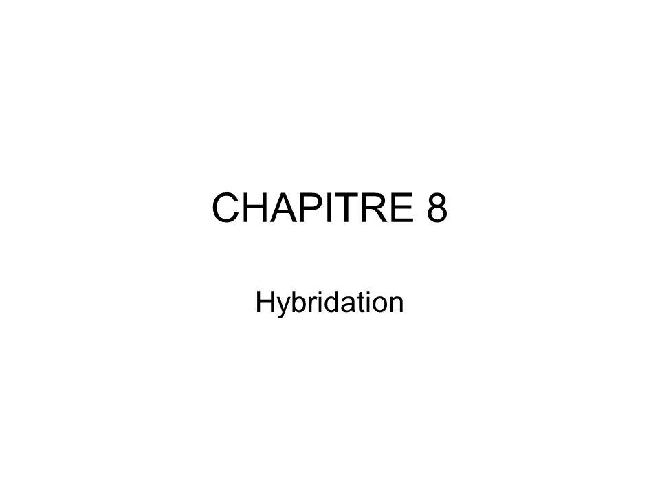 CHAPITRE 8 Hybridation