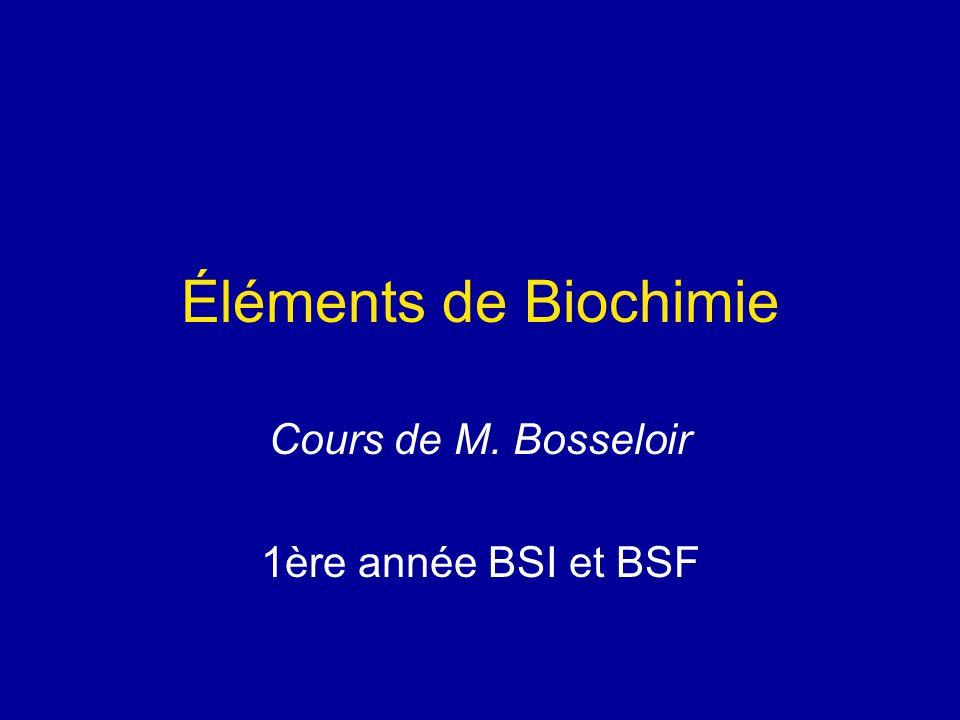 Cours de M. Bosseloir 1ère année BSI et BSF