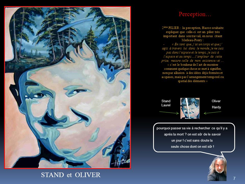 STAND et OLIVER Perception…