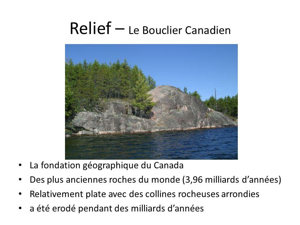 Relief – Le Bouclier Canadien