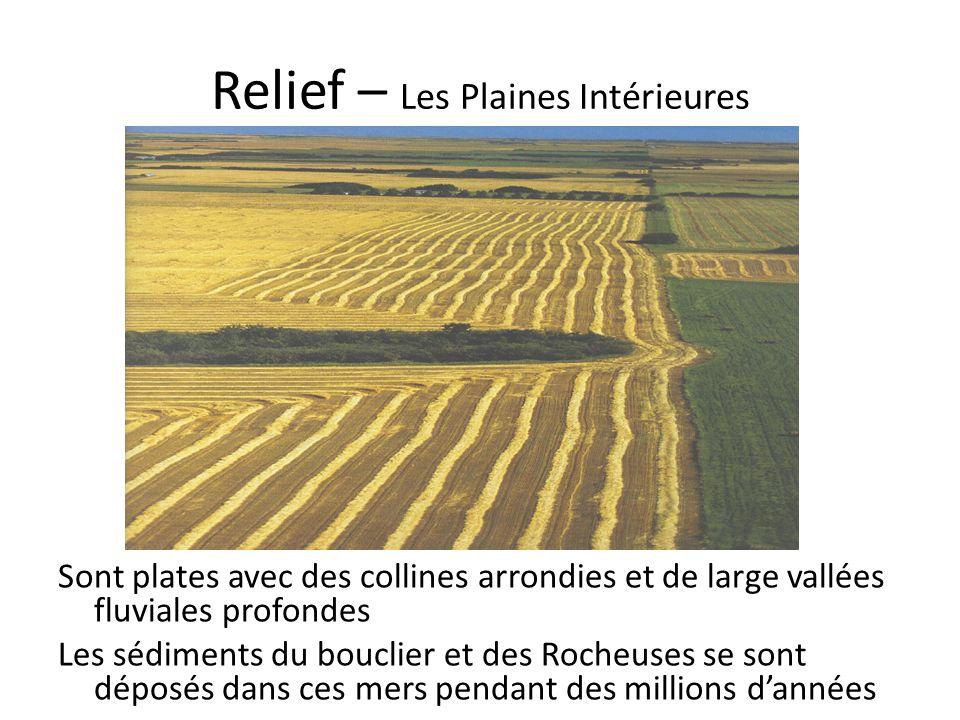 Relief – Les Plaines Intérieures