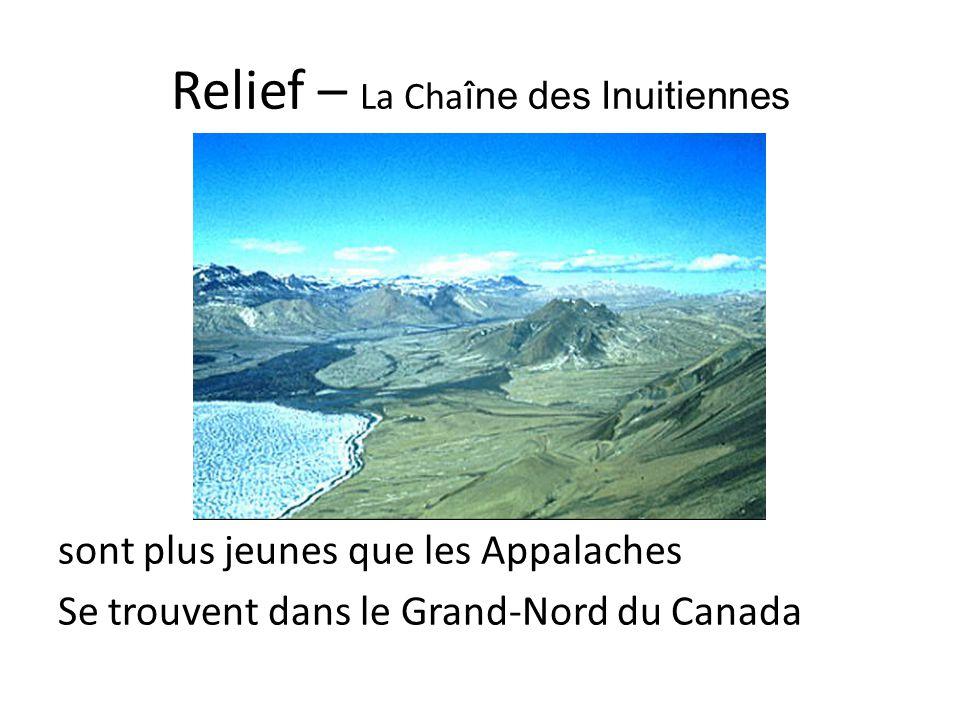 Relief – La Chaîne des Inuitiennes