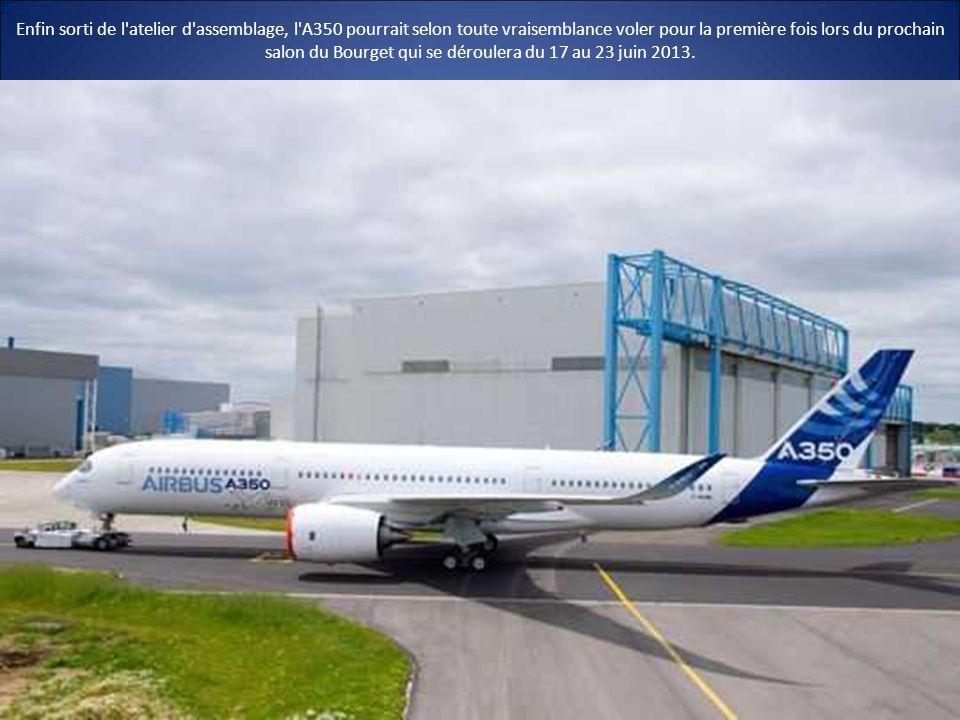 A350 le nouvel avion effil d 39 airbus enfin livr ppt t l charger - Prochain salon du bourget ...