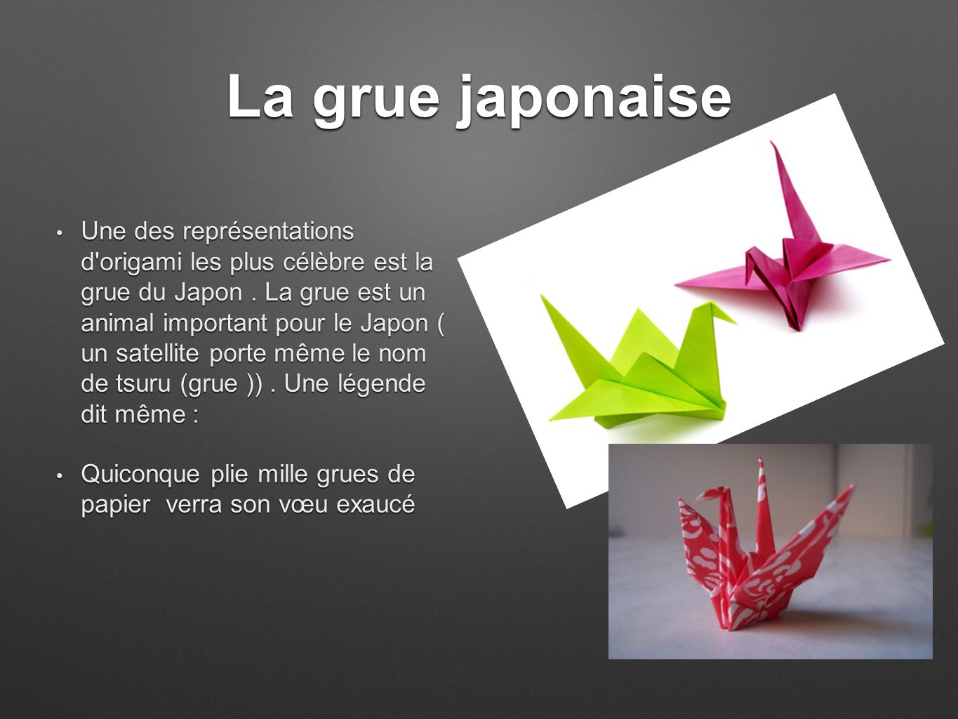 les origamis expos de lou ppt video online t l charger. Black Bedroom Furniture Sets. Home Design Ideas