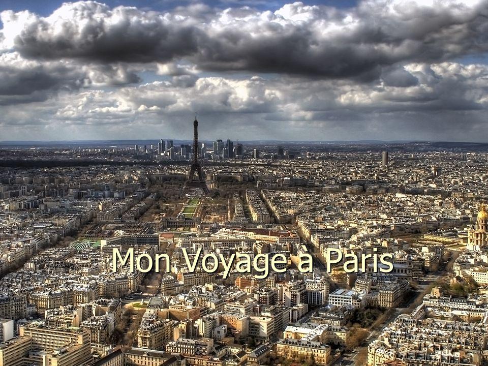 Mon Voyage à Paris