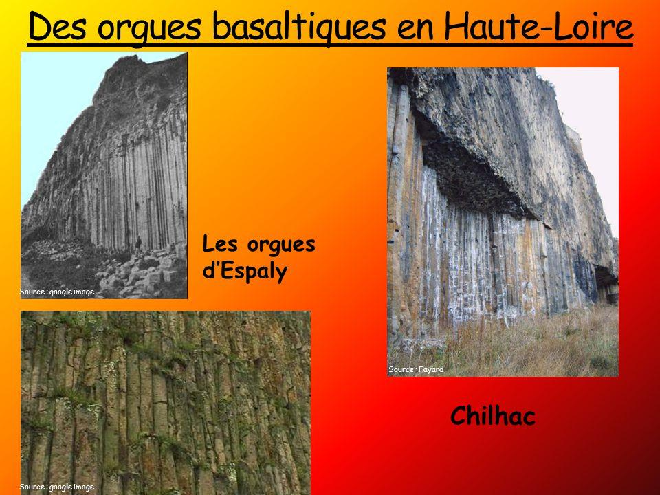 Des orgues basaltiques en Haute-Loire