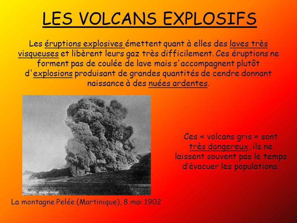 LES VOLCANS EXPLOSIFS