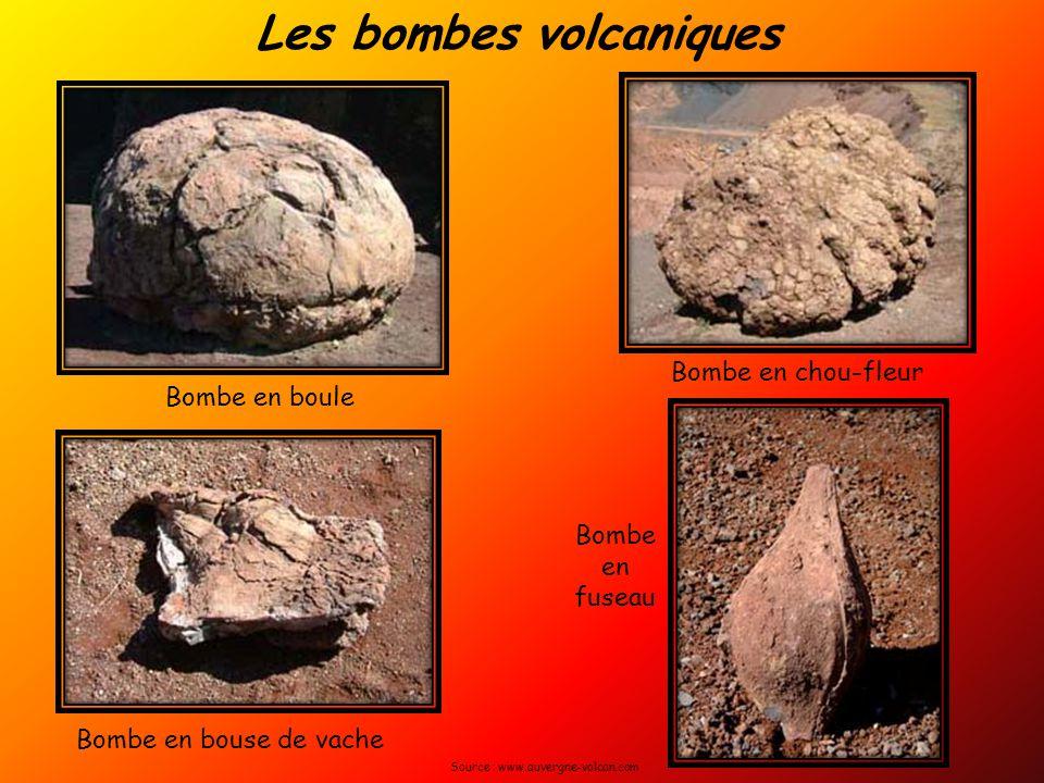Les bombes volcaniques