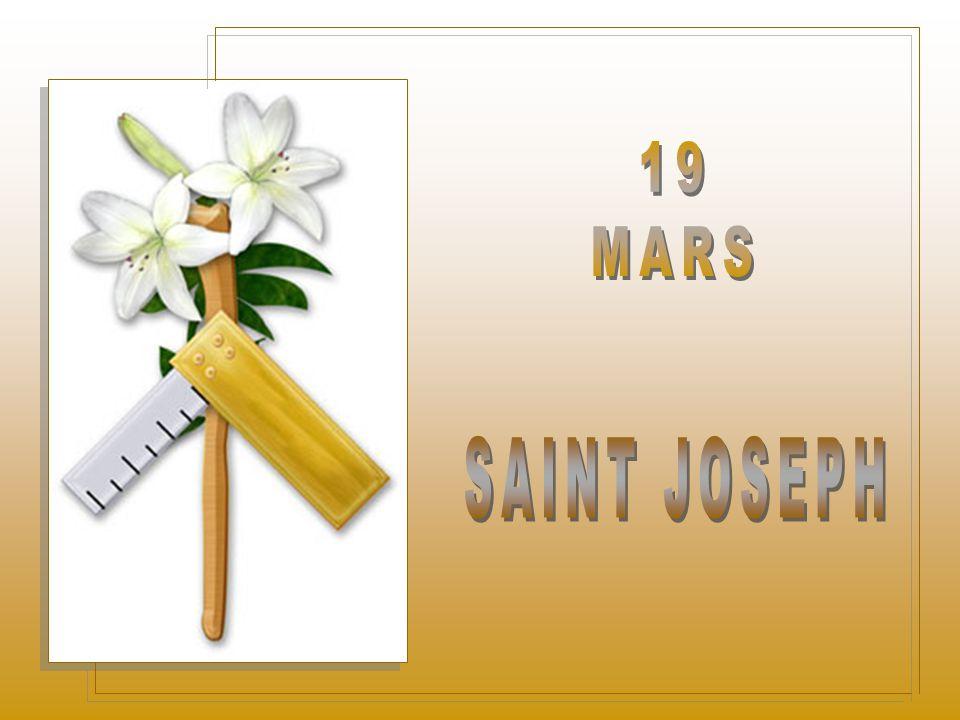 19 MARS SAINT JOSEPH