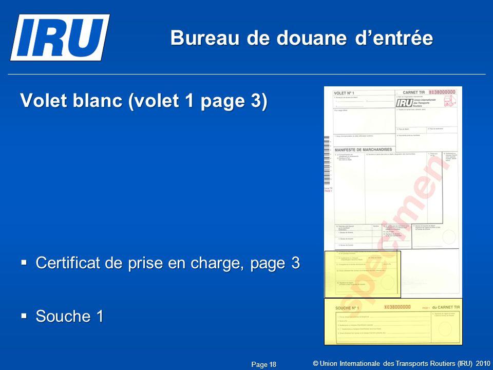 Sc nario 3 remplissage du carnet tir par les douanes de for Bureau des douanes 64
