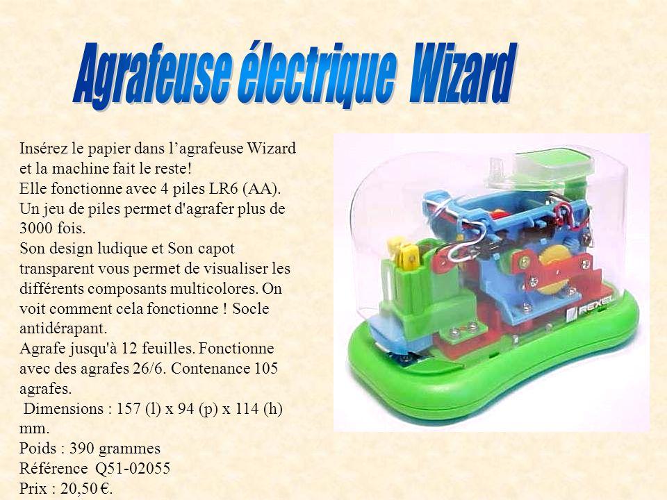 Agrafeuse lectrique wizard ppt video online t l charger - Fonctionne avec des piles 94 ...