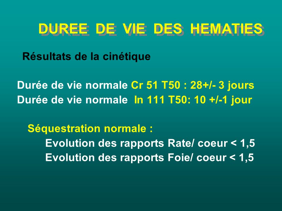 Introduction l h matologie ppt video online t l charger for Duree de vie des poules pondeuses