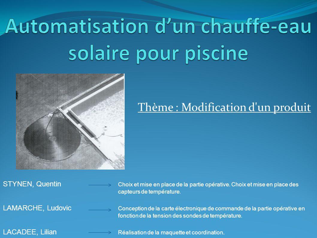 Automatisation d un chauffe eau solaire pour piscine ppt - Chauffe eau solaire pour piscine ...
