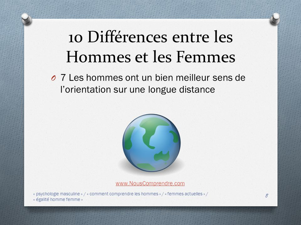 10 diff rences entre les hommes et les femmes ppt - Difference entre les cookeo ...