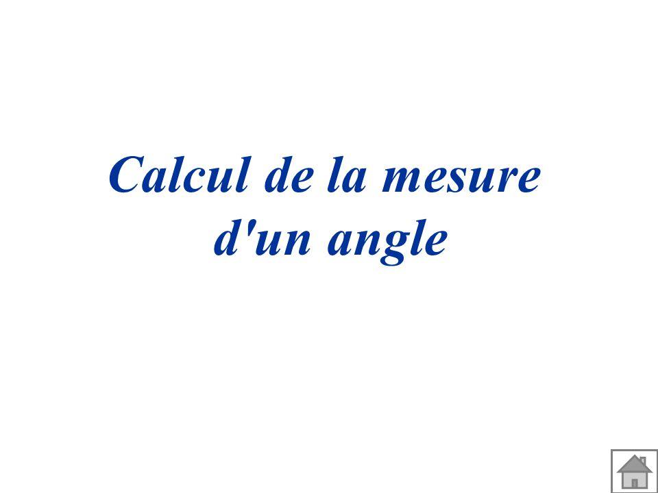 2 a calcul de la mesure d 39 un angle 3 formules for Marche d angle calcul