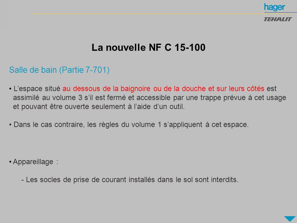 la nouvelle nf c 15 100 salle de bain partie 7 701 - Norme C15 100 Salle De Bain