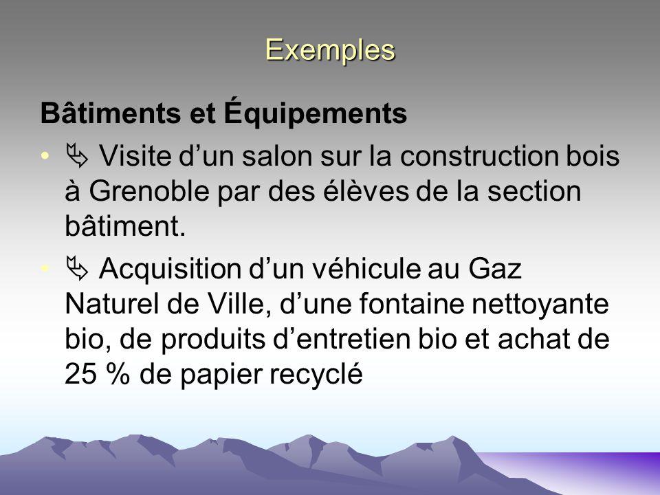 L agenda 21 au lyc e paul h raud ppt t l charger for Salon construction bois