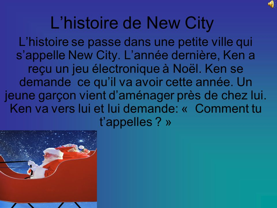 L'histoire de New City