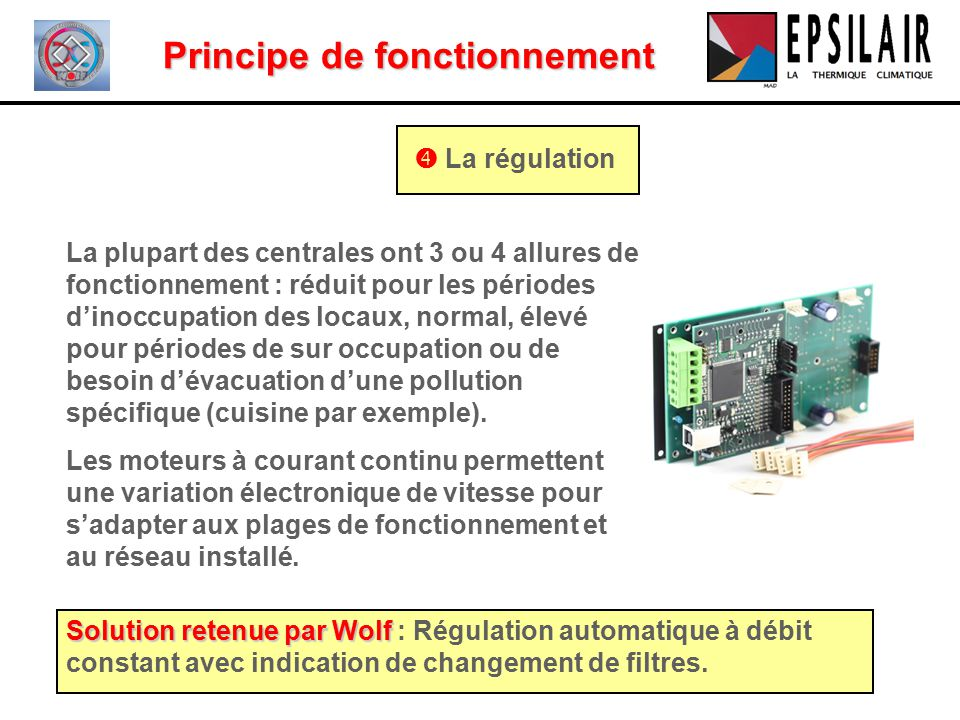 La vmc double flux thermodynamique ppt video online - Principe de fonctionnement d une chambre froide ...
