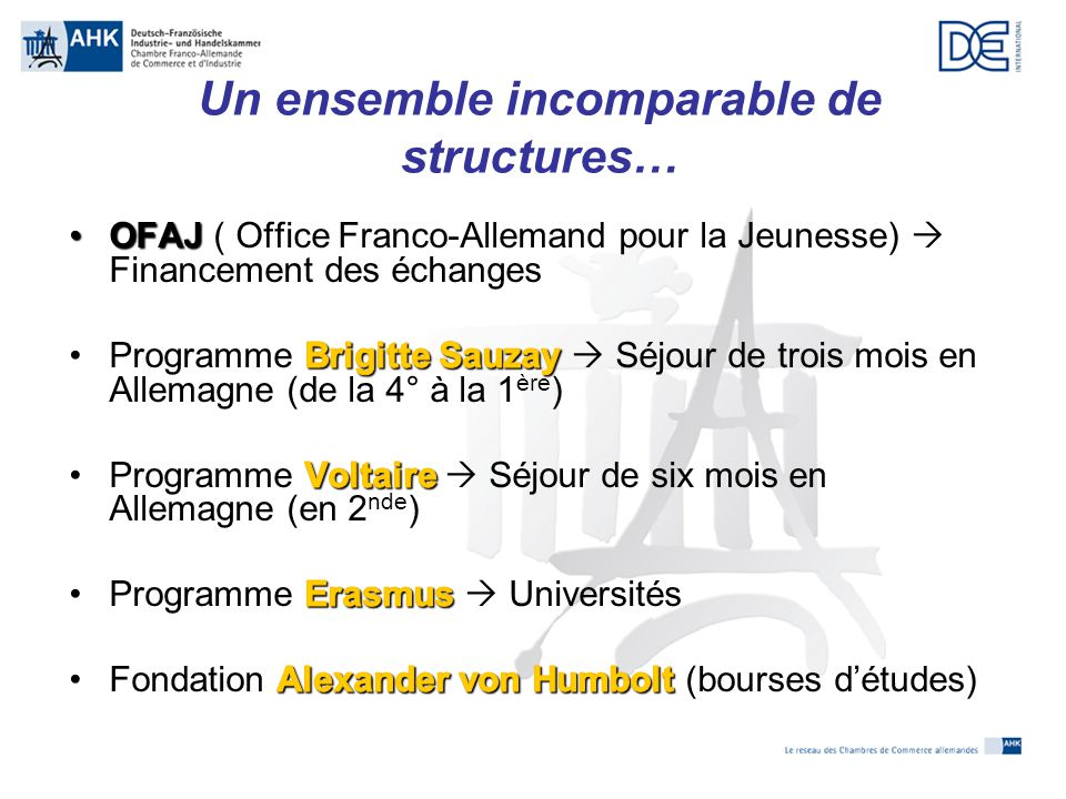 Langues maternelles dans l union europ enne ppt video - Office allemand d echanges universitaires ...