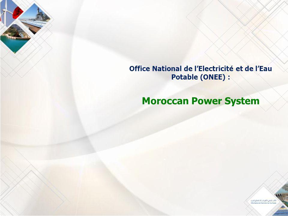 Office national de l electricit et de l eau potable onee - Office national de l eau et des milieux aquatiques ...