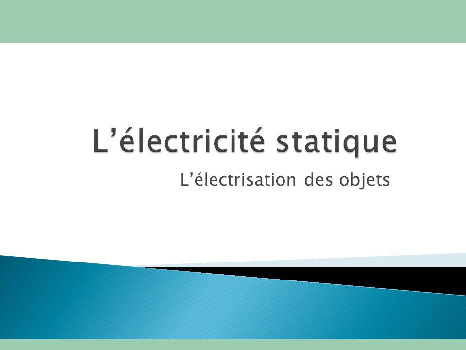 L lectricit statique ppt video online t l charger - Comment enlever l electricite statique ...