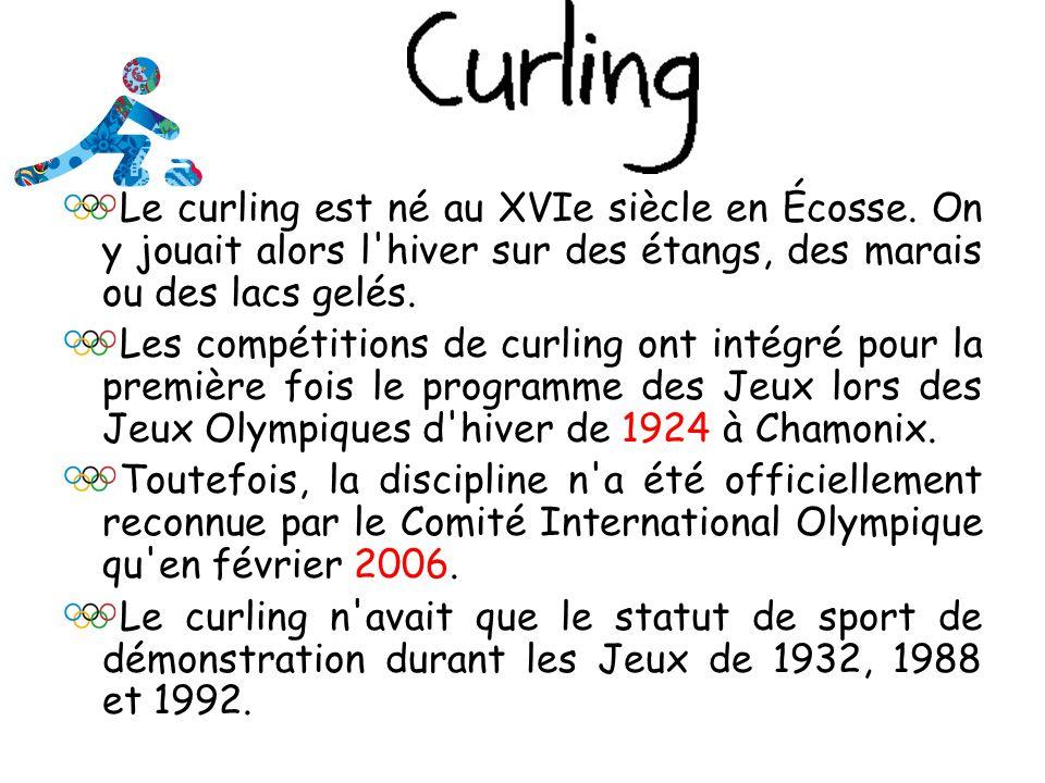 Le curling est né au XVIe siècle en Écosse