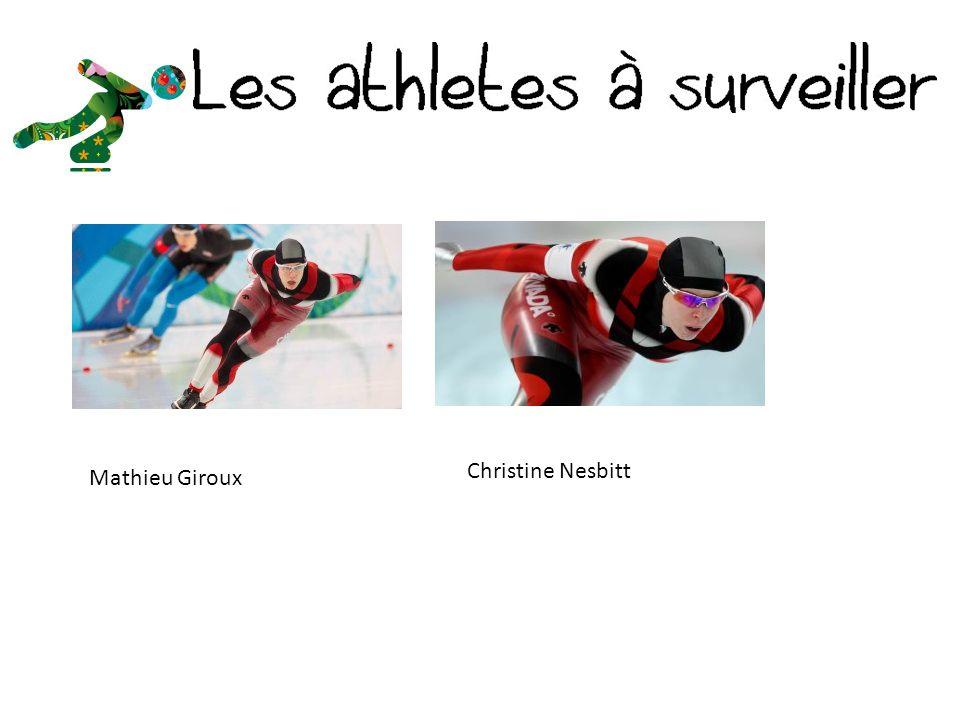 Christine Nesbitt Mathieu Giroux