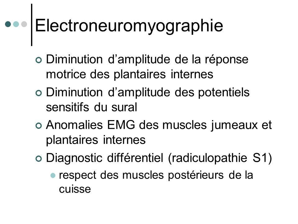 Electroneuromyographie