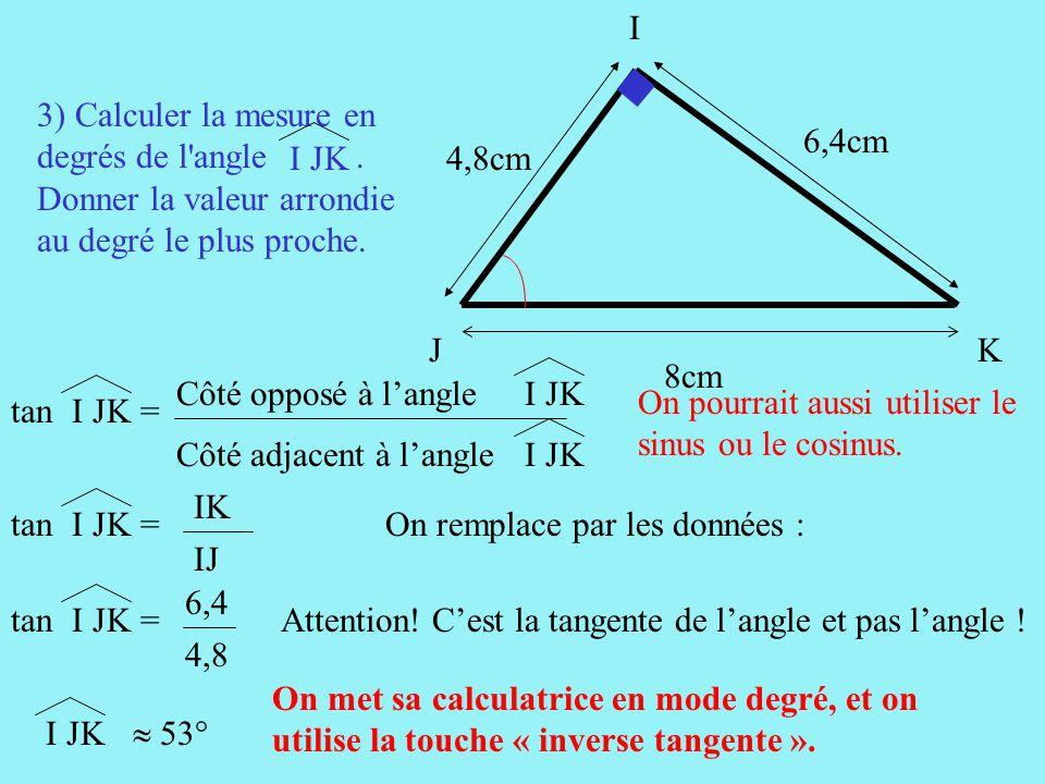 Lyon 96 1 construire un triangle ijk tel que ppt video online t l charger - Comment couper un angle a 45 degres ...
