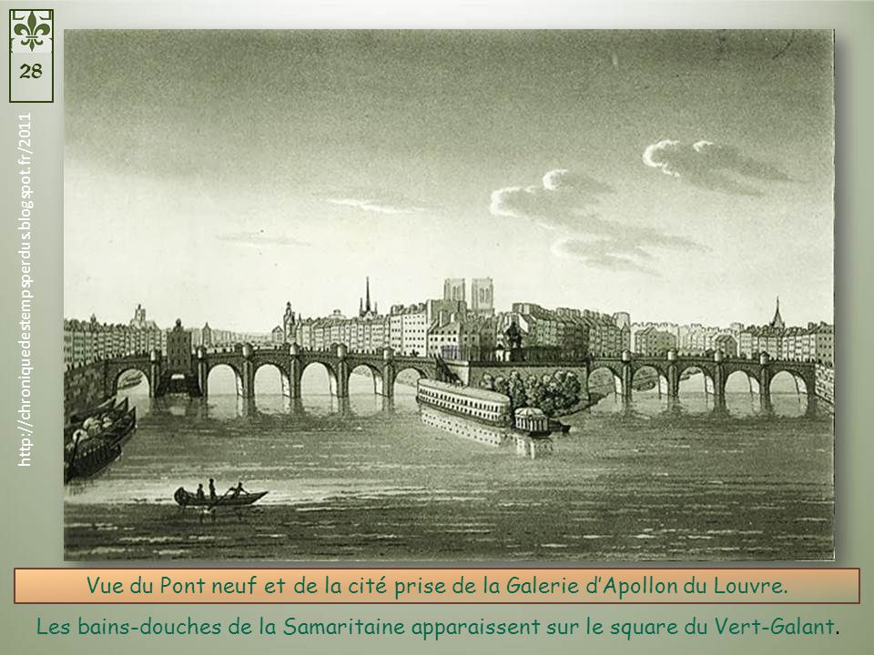 le pont neuf et le square du vert galant paris ppt. Black Bedroom Furniture Sets. Home Design Ideas