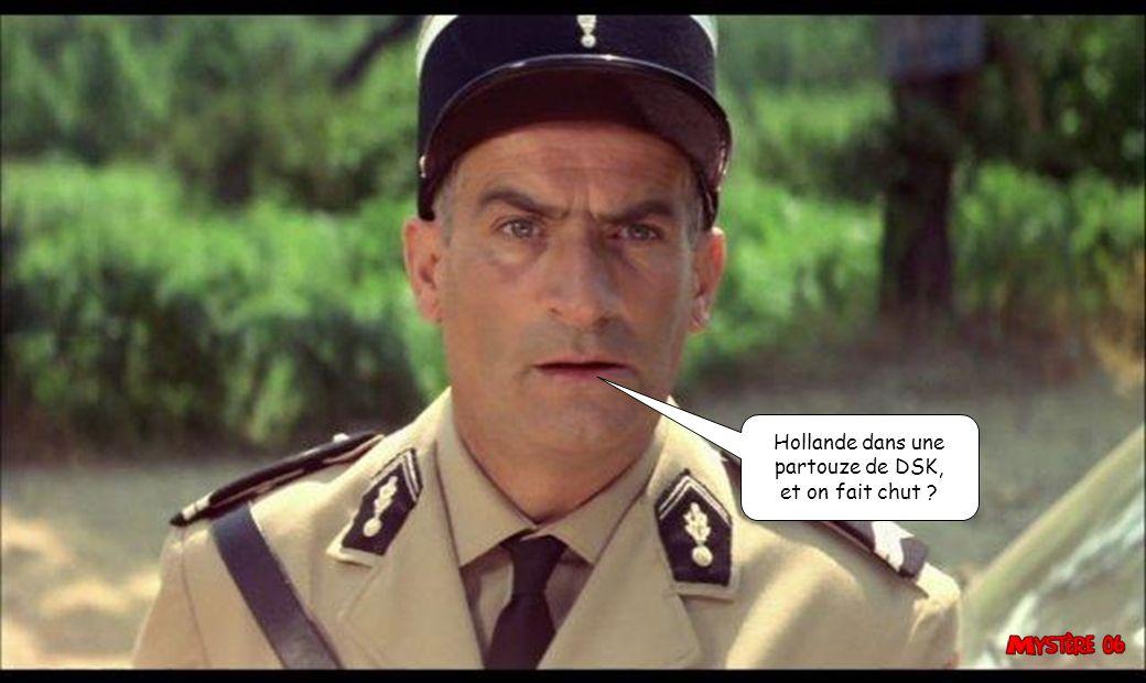 Hollande dans une partouze de DSK, et on fait chut