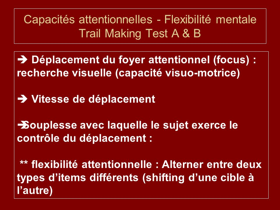 trail making test a and b pdf