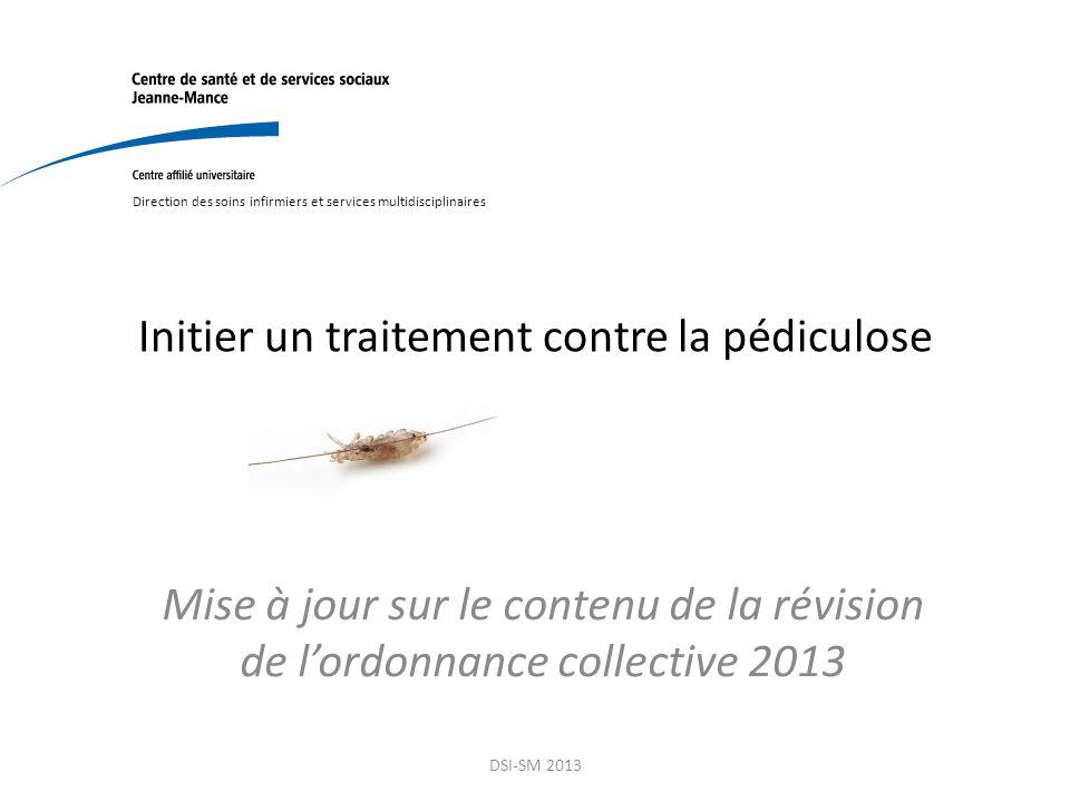 Initier un traitement contre la p diculose ppt video for Traitement contre la vrillette