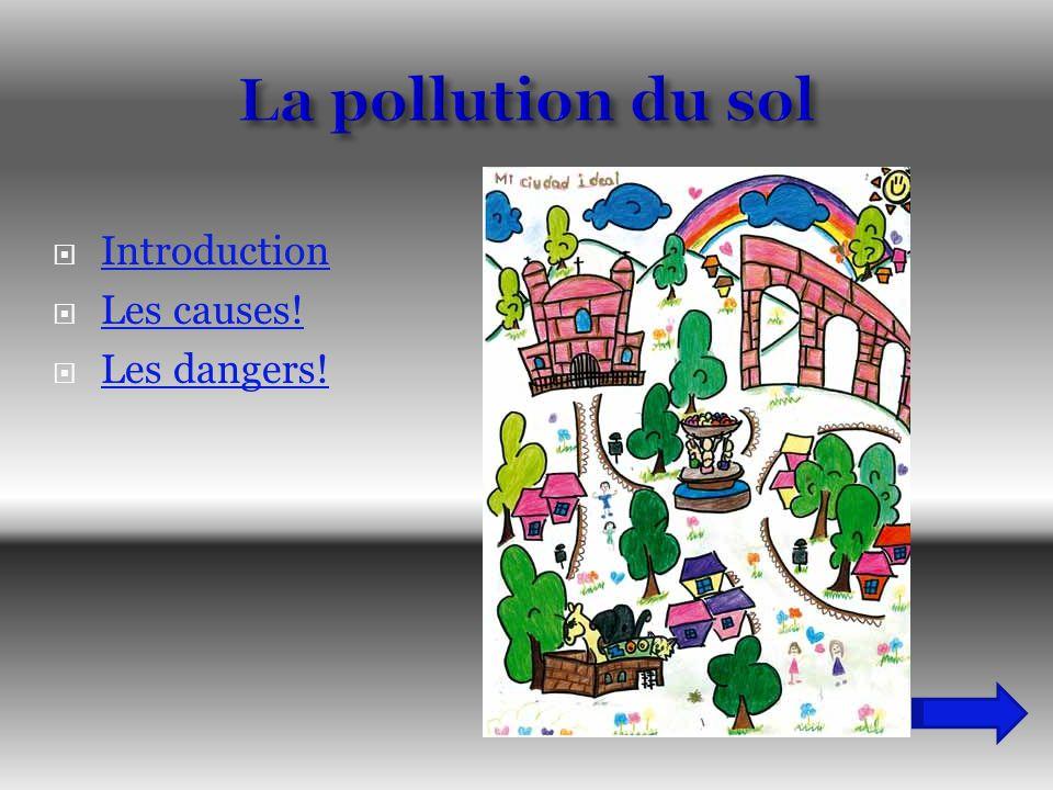La pollution du sol Introduction Les causes! Les dangers!
