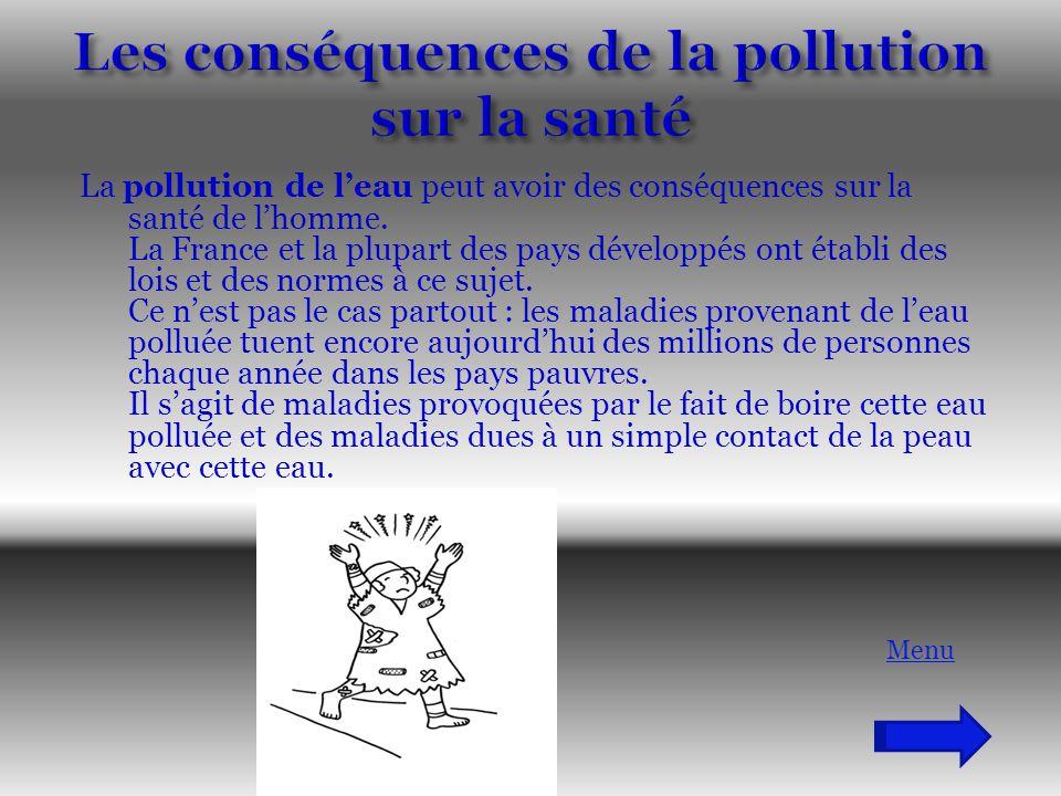 Les conséquences de la pollution sur la santé