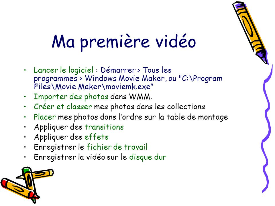 Installer Windows Movie Maker Pour Vista