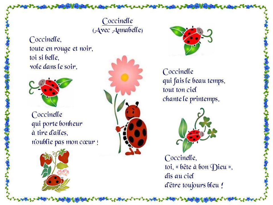 Po mes issus d un livre de m me titre de po sies pour enfants ppt video online t l charger - Poeme coccinelle porte bonheur ...