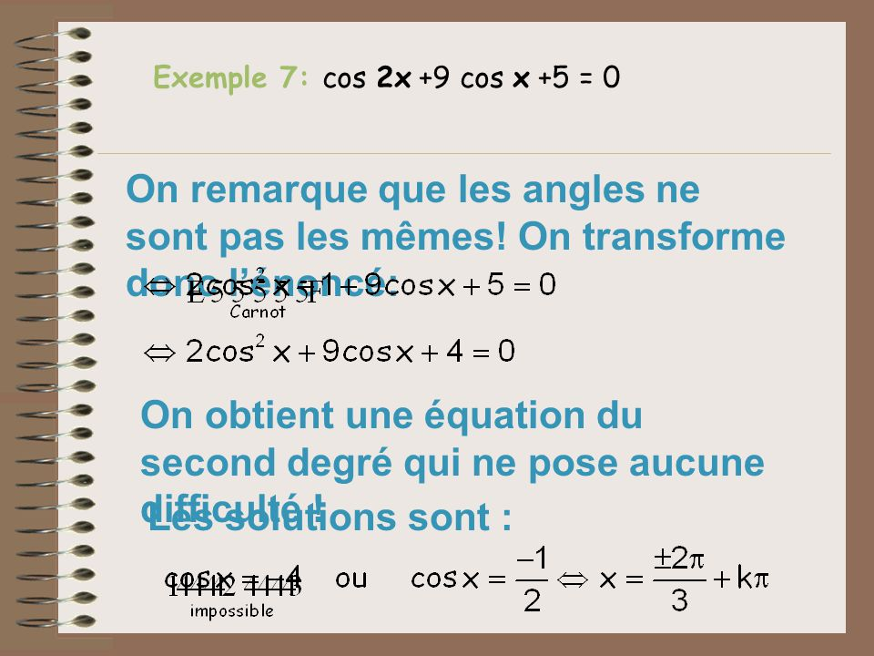 quations trigonom triques ppt video online t l charger. Black Bedroom Furniture Sets. Home Design Ideas