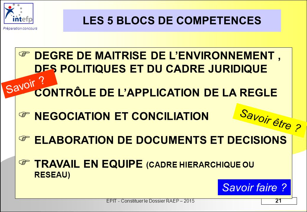module 1- initiation s u00e9quence 1   constituer le dossier raep