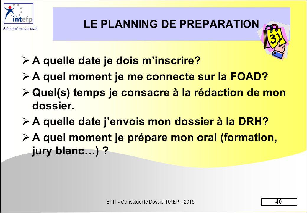 Module 1 initiation s quence 1 constituer le dossier for A quel moment preparer la chambre de bebe