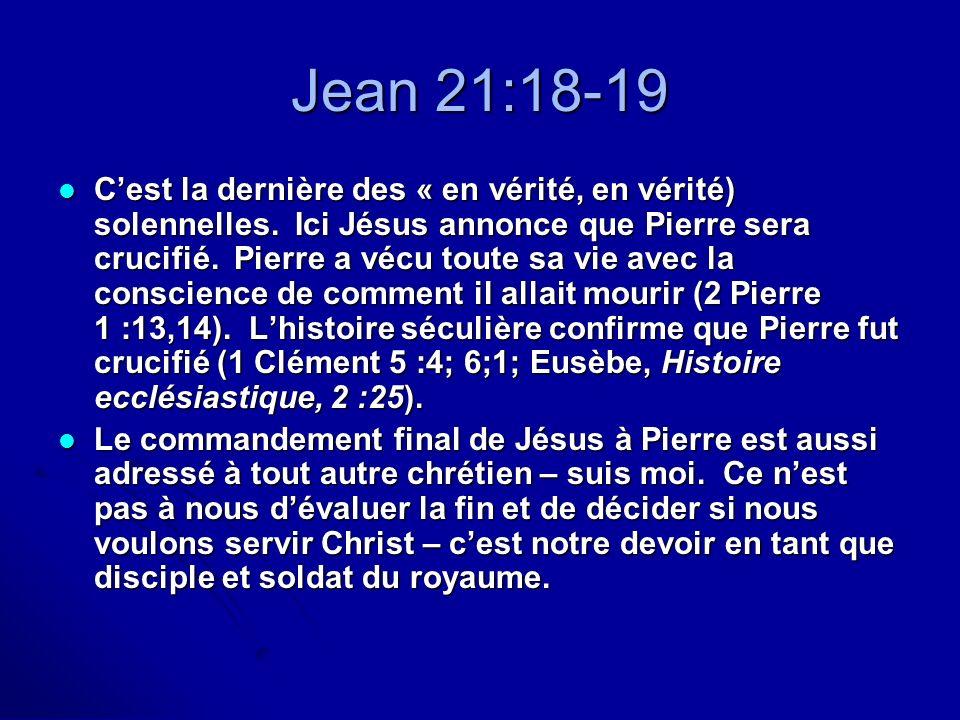 Jean 21:18-19