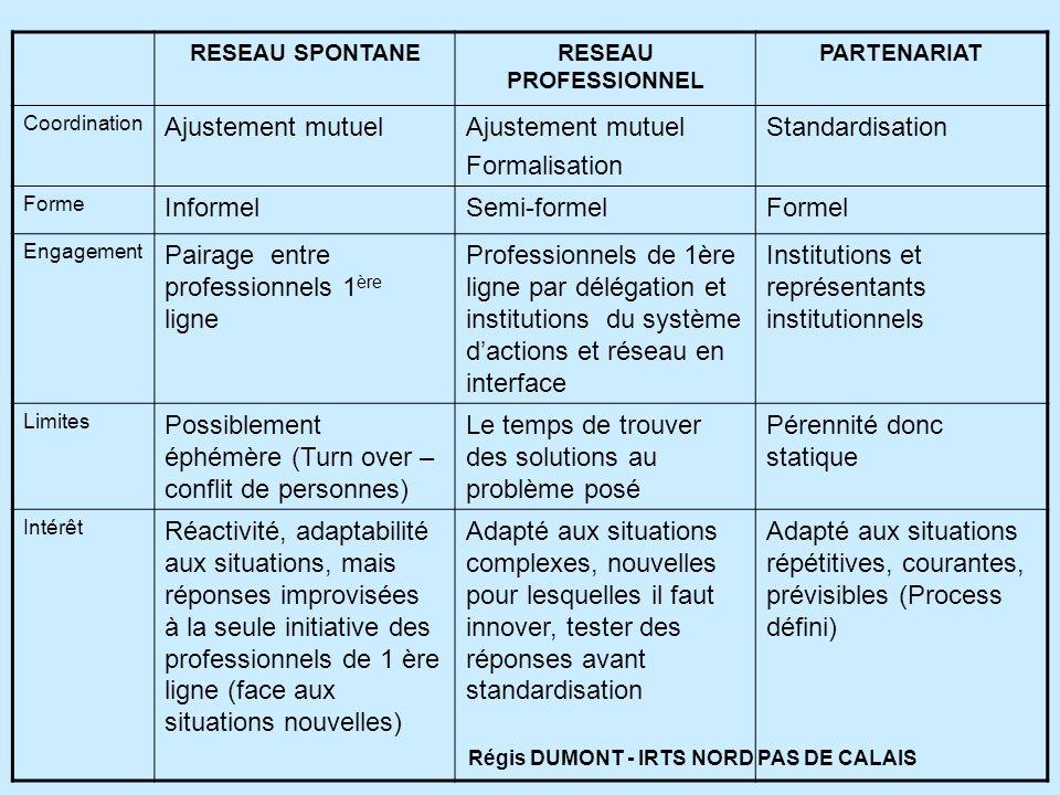 Régis DUMONT - IRTS NORD PAS DE CALAIS