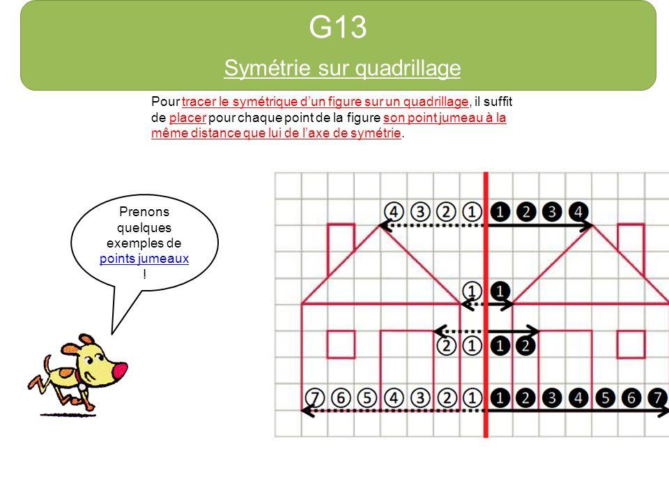 Symétrie sur quadrillage