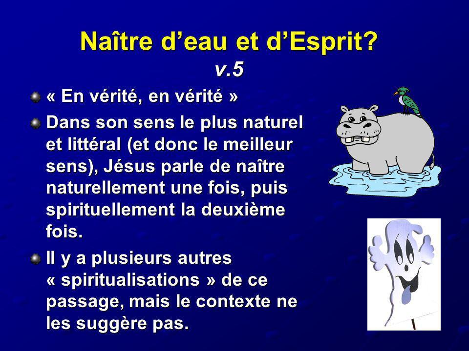 Naître d'eau et d'Esprit v.5