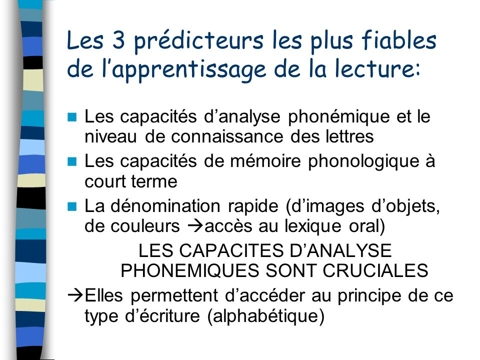 travailler la conscience phonologique a l ecole maternelle ppt video online t l charger. Black Bedroom Furniture Sets. Home Design Ideas