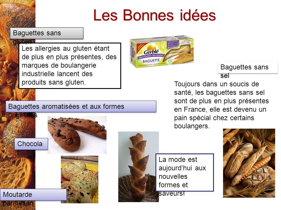 Les Bonnes idées Baguettes sans gluten